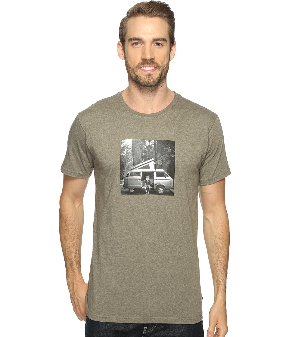 Mountain Hardwear - A Man and His Van Tee (Heather Stone Green) Men's T Shirt