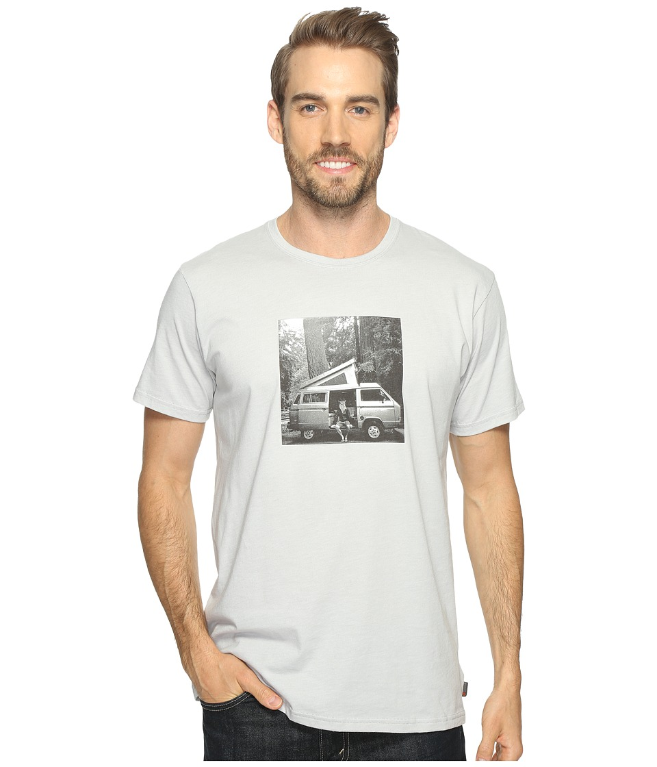 Mountain Hardwear - A Man and His Van Tee (Heather Grey Ice) Men's T Shirt