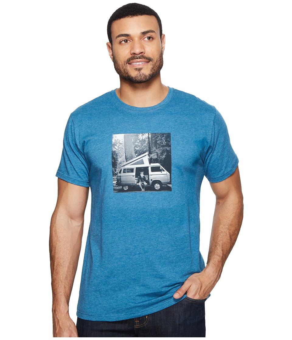 Mountain Hardwear - A Man and His Van Tee (Heather Phoenix Blue) Men's T Shirt