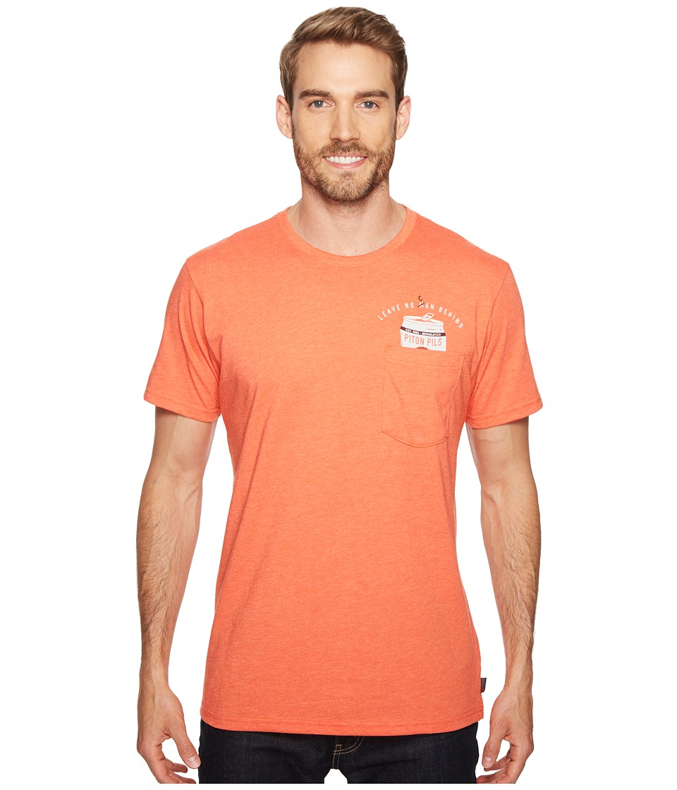 Mountain Hardwear - No Can Left Behind Tee (Heather State Orange) Men's T Shirt