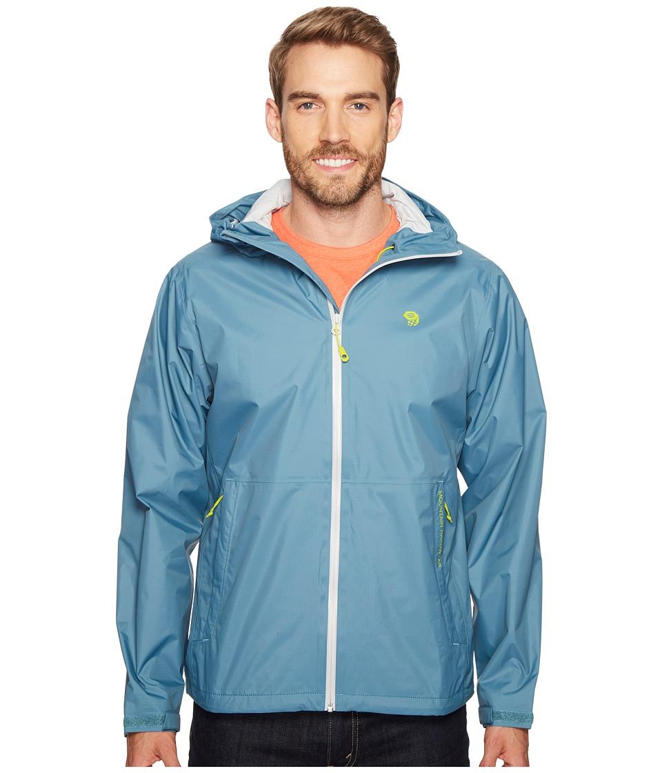 Mountain Hardwear - Findertm Jacket (Cloudburst) Men's Coat