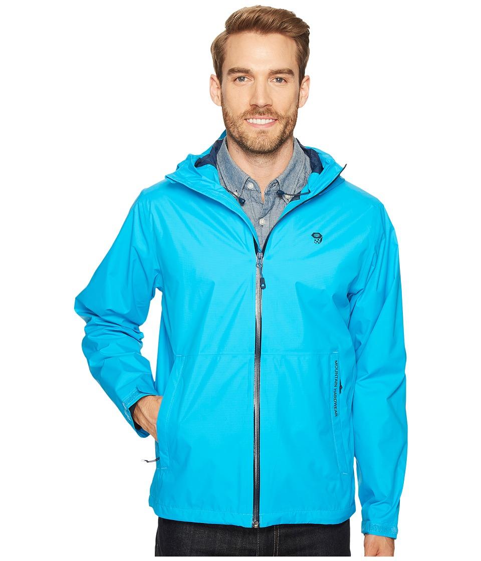 Mountain Hardwear - Findertm Jacket (Ocean Blue) Men's Coat