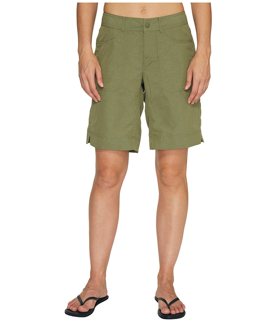 The North Face - Horizon 2.0 Roll-Up Shorts (Deep Lichen Green Heather (Prior Season)) Women's Shorts