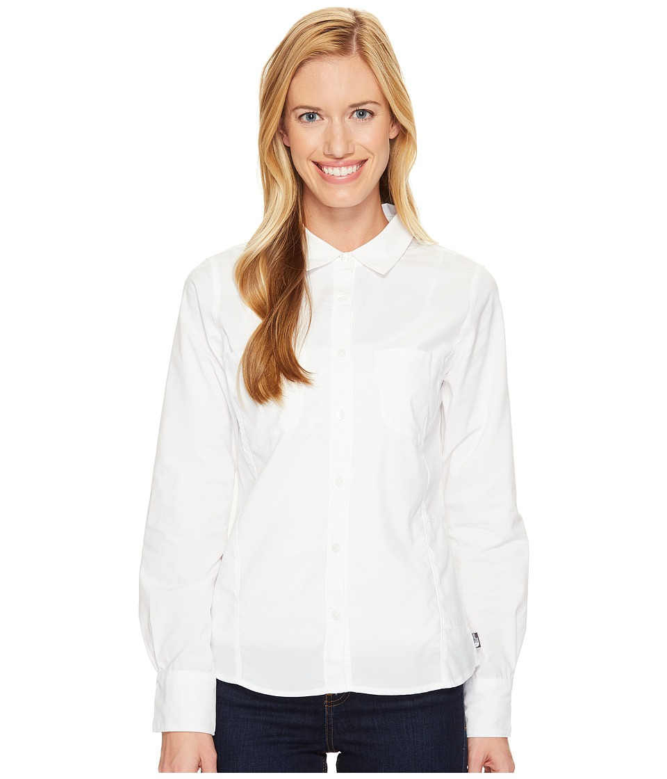 The North Face - Long Sleeve Sunblocker Shirt (TNF White (Prior Season)) Women's Long Sleeve Button Up