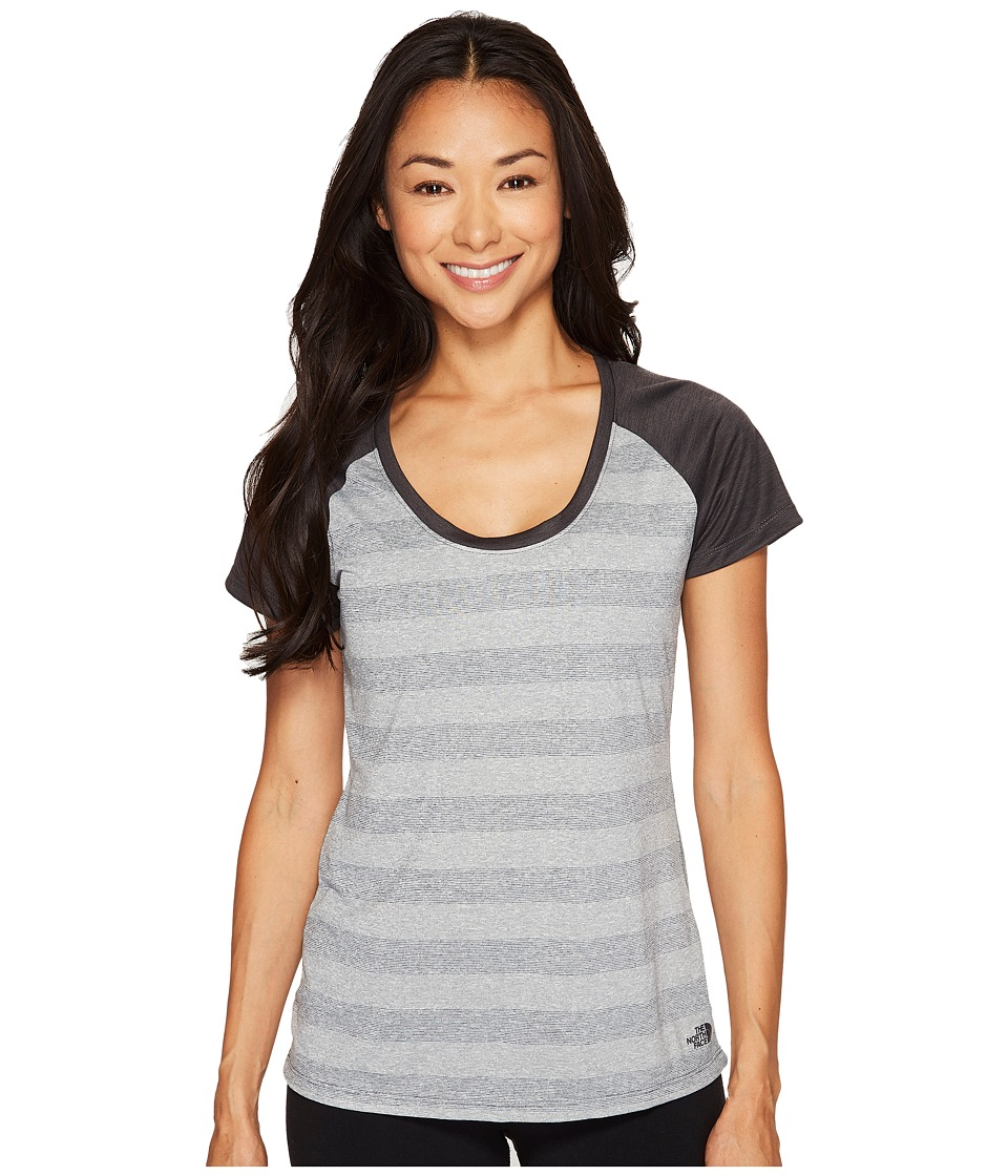 The North Face Short Sleeve Adventuress Tee (TNF Medium Grey Heather (Prior Season)) Women