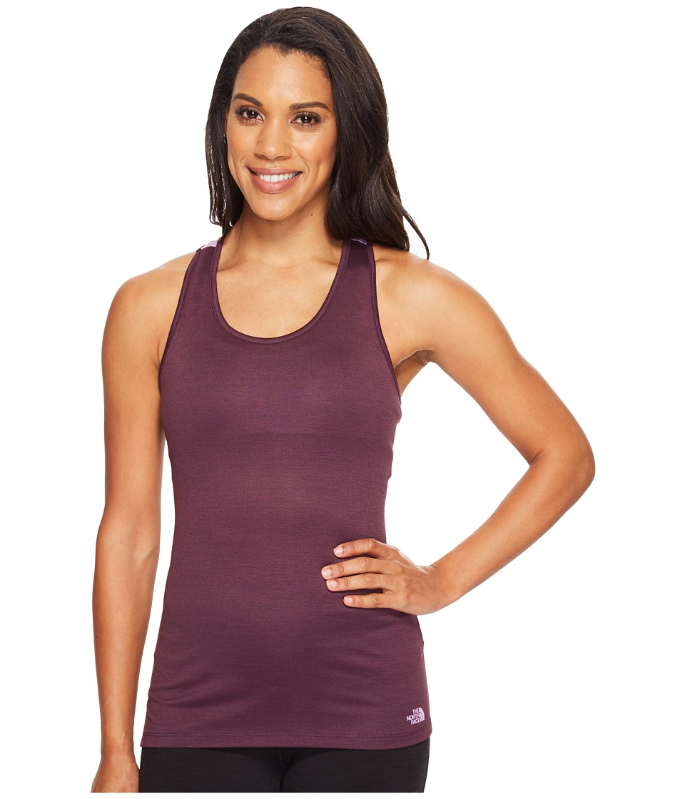 The North Face Adventuress Tank Top (Blackberry Wine Heather (Prior Season)) Women