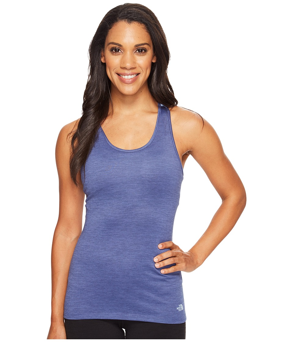 The North Face - Adventuress Tank Top (Coastal Fjord Blue Heather (Prior Season)) Women's Sleeveless