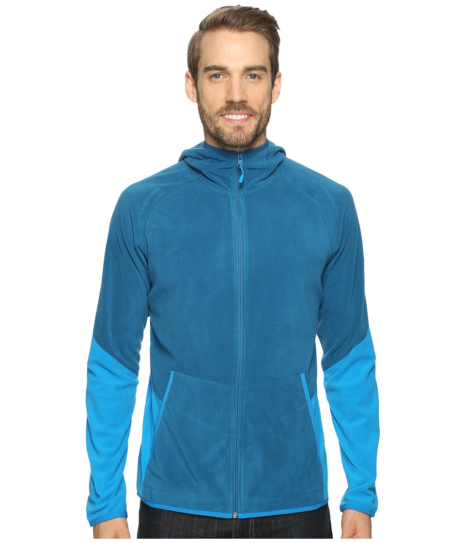 Mountain Hardwear - MicroChill Lite Full Zip Hoodie (Phoenix Blue) Men's Sweatshirt