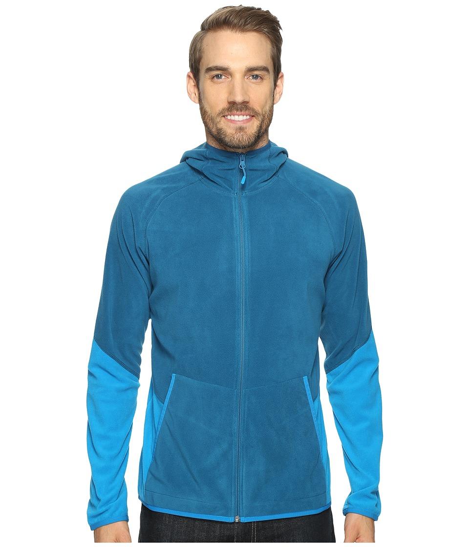 Mountain Hardwear - MicroChill Lite Full Zip Hoodie (Phoenix Blue) Men's Sweatshirt