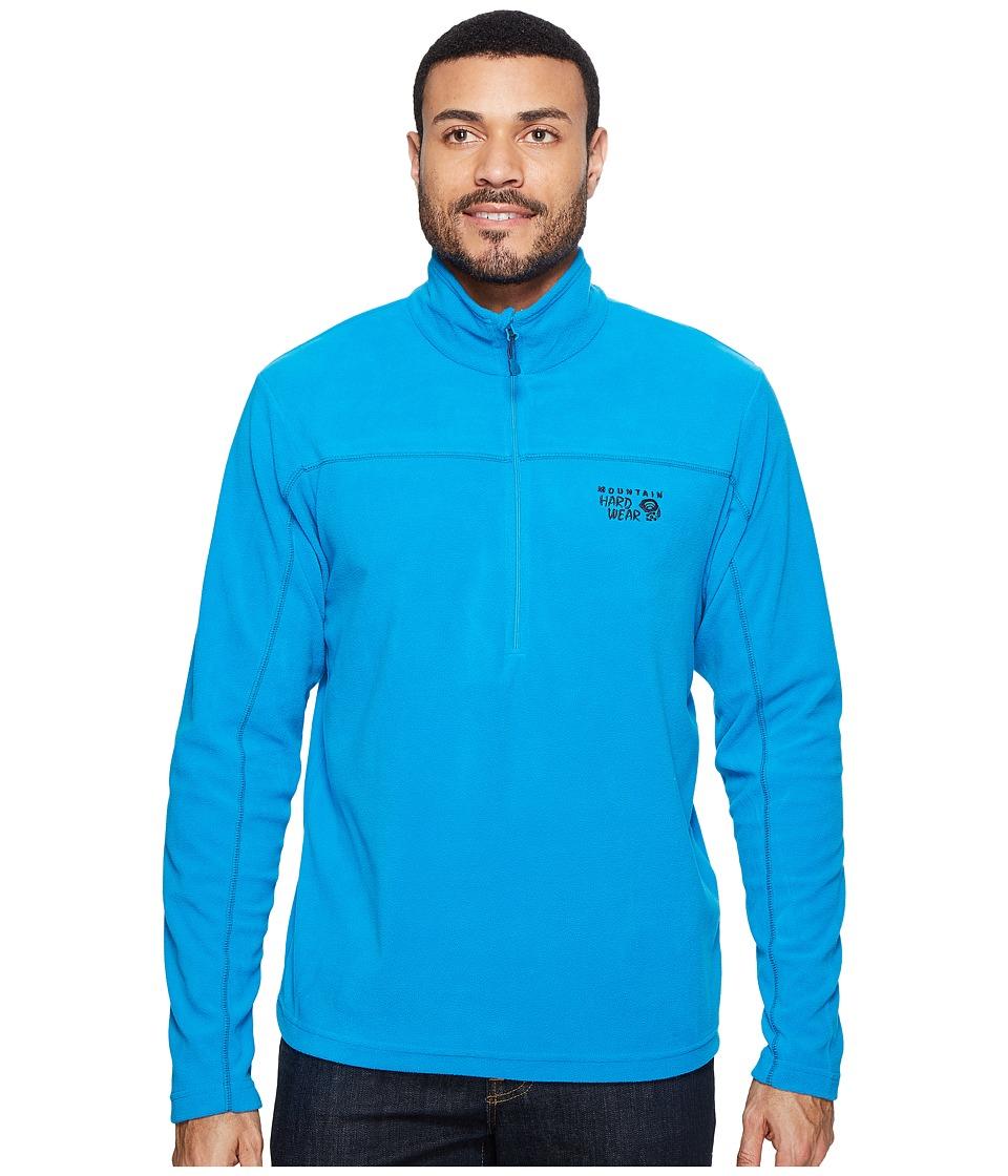 Mountain Hardwear - MicroChilltm Lite Zip T (Dark Compass) Men's Long Sleeve Pullover