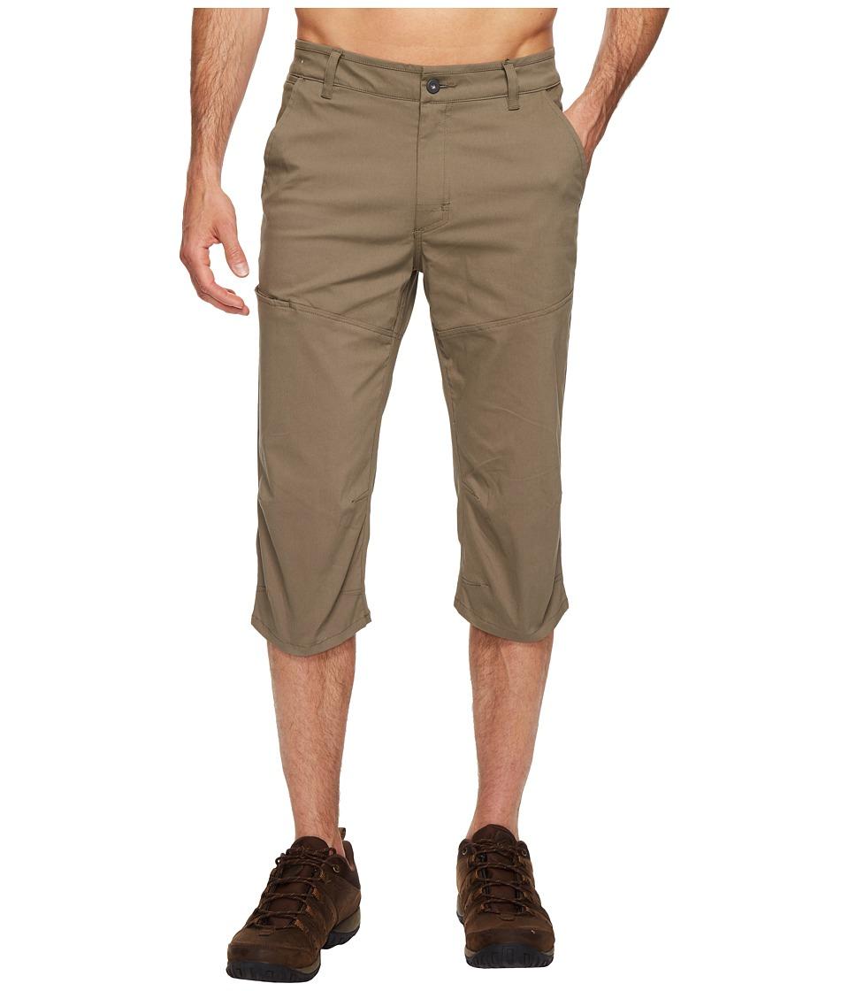 Mountain Hardwear - Hardwear AP 3/4 Pants (Stone Green) Men's Casual Pants