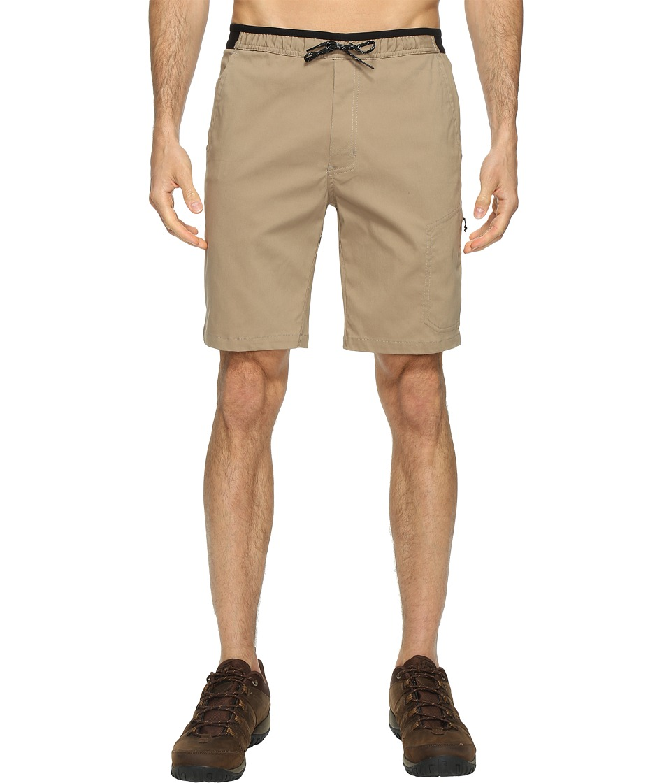 Mountain Hardwear AP Scrambler Shorts (Khaki) Men