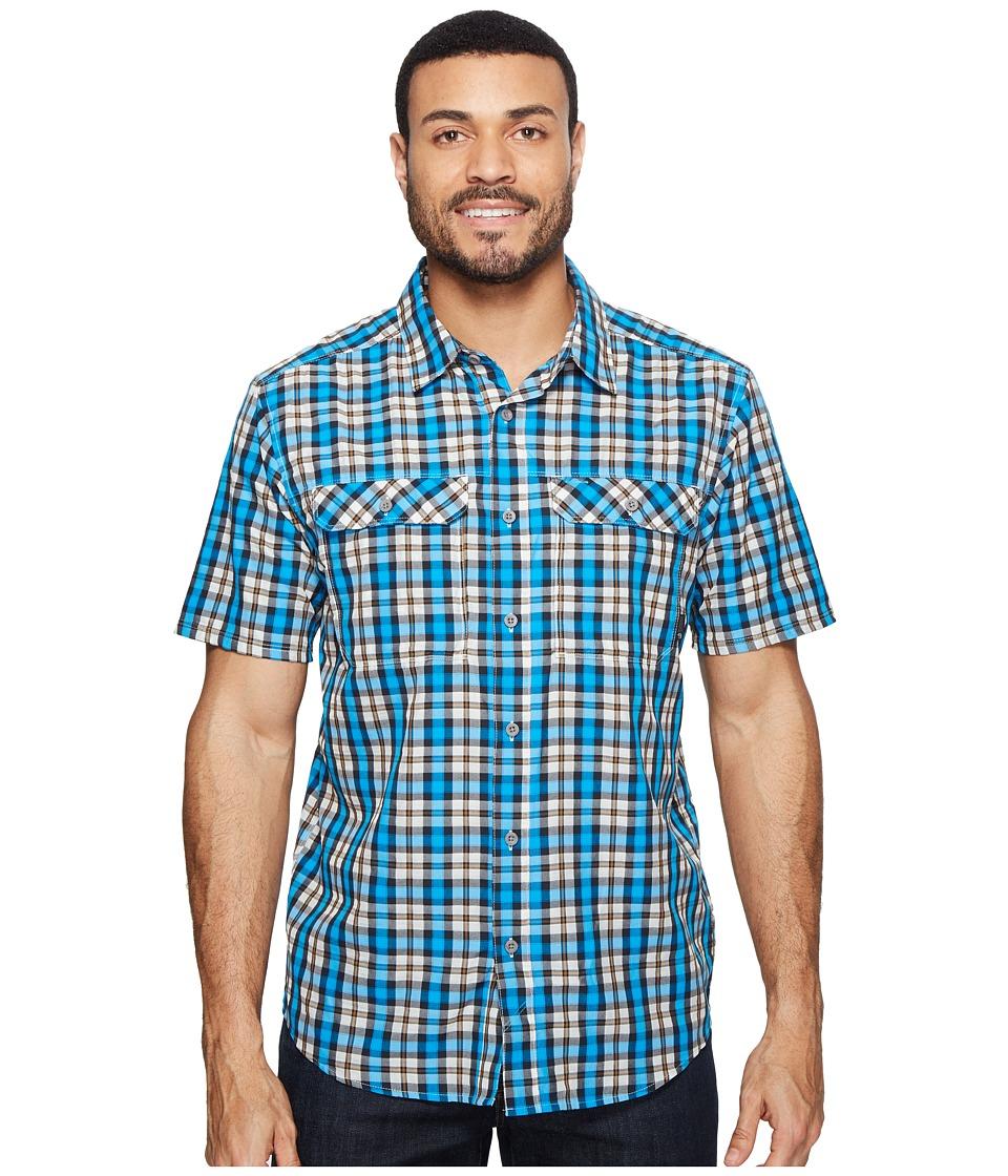 Mountain Hardwear - Canyon AC Short Sleeve Shirt (Dark Compass) Men's Short Sleeve Button Up