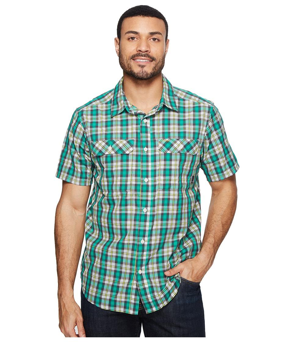 Mountain Hardwear - Canyon AC Short Sleeve Shirt (Plastic Fern) Men's Short Sleeve Button Up