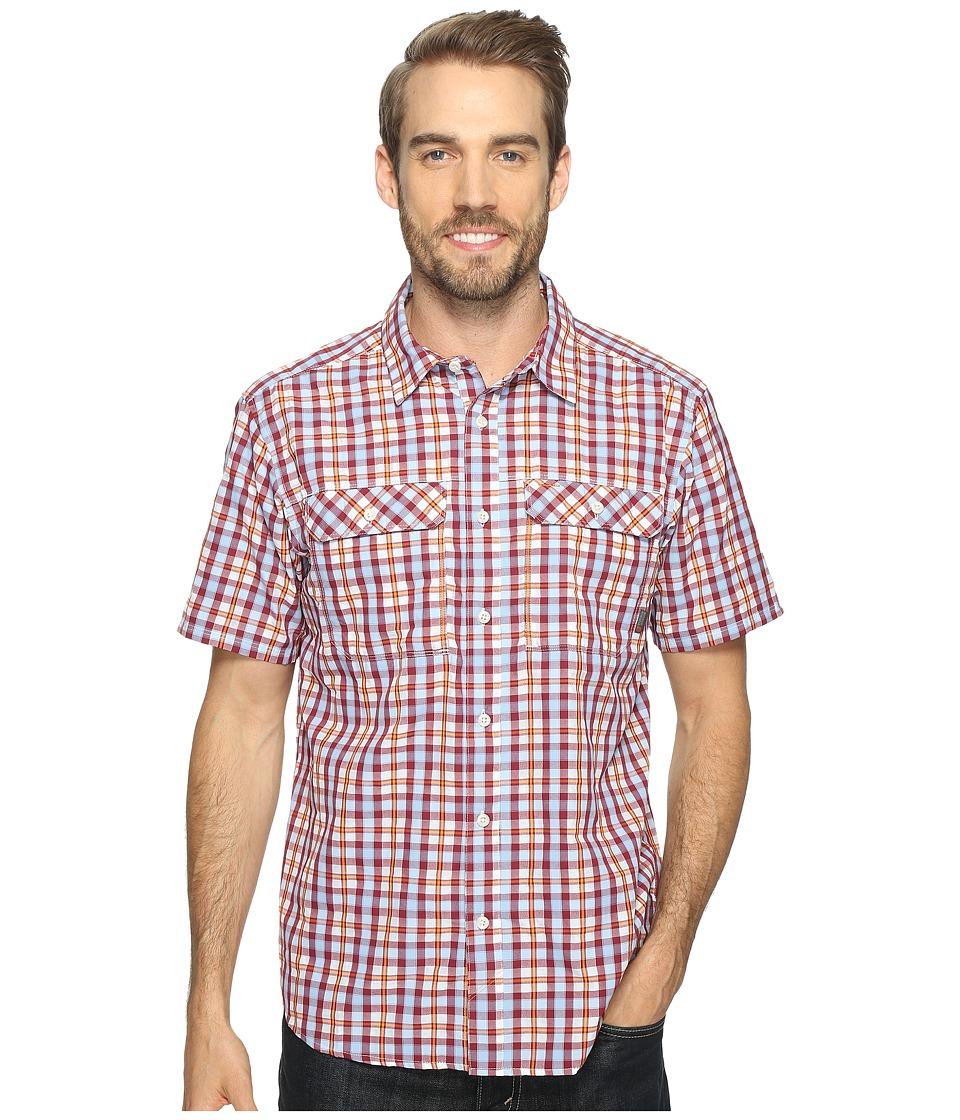 Mountain Hardwear - Canyon AC Short Sleeve Shirt (Cote du Rhone) Men's Short Sleeve Button Up