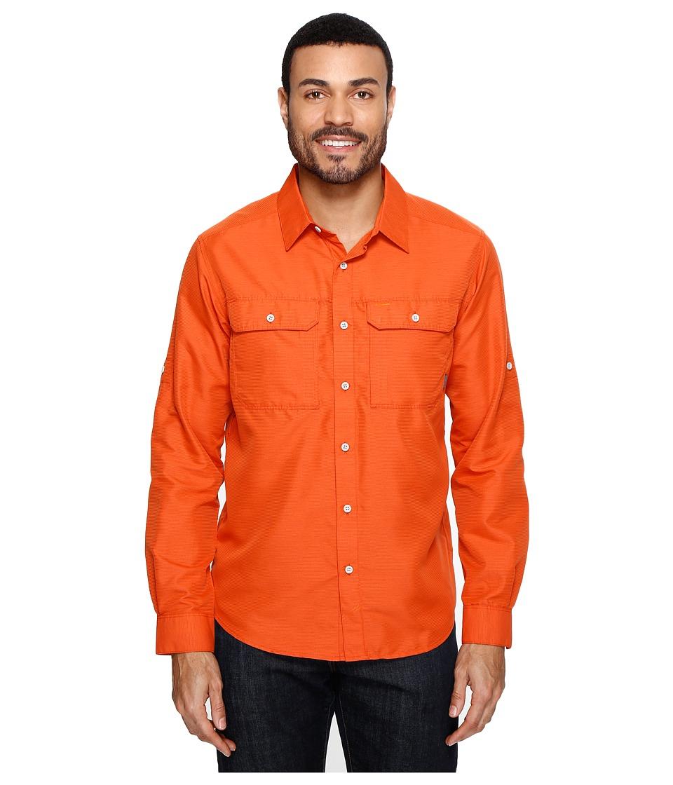 Mountain Hardwear - Canyontm L/S Shirt (Bonfire) Men's Long Sleeve Button Up