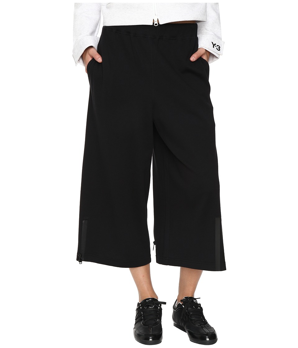 adidas Y-3 by Yohji Yamamoto - Jersey Pants (Black/Midnight) Women's Casual Pants