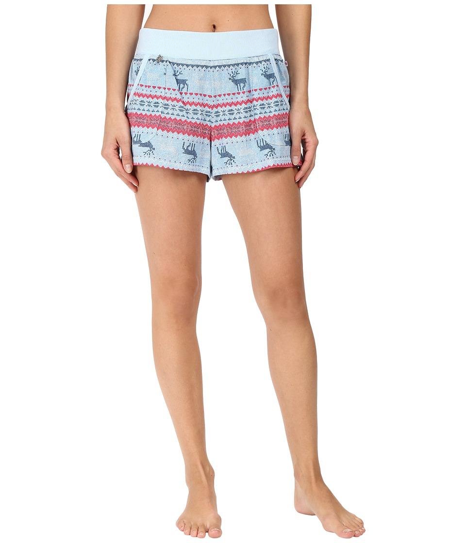 Jane & Bleecker - Knit Shorts 3511252 (Jane Reindeer Fair Isle) Women's Pajama