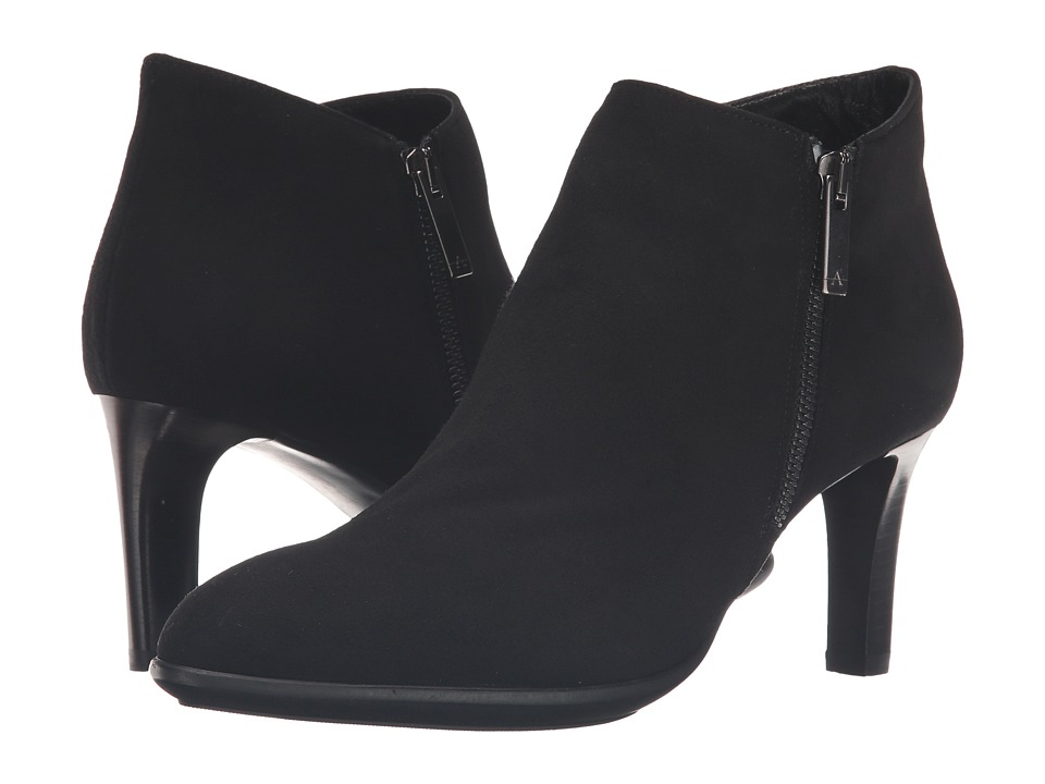 Aquatalia Dina (Black Suede) Women