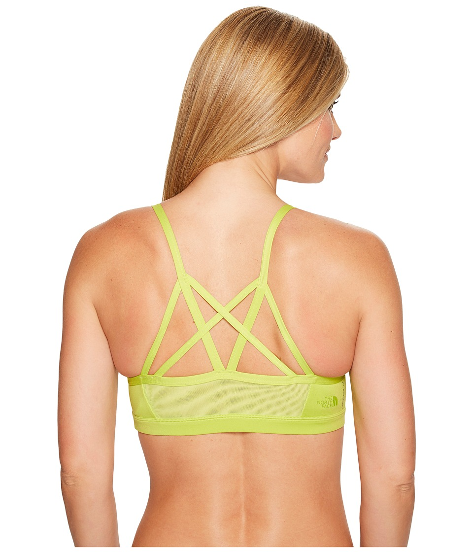 The North Face - Motivation Strappy Bra (Wild Lime) Women's Bra