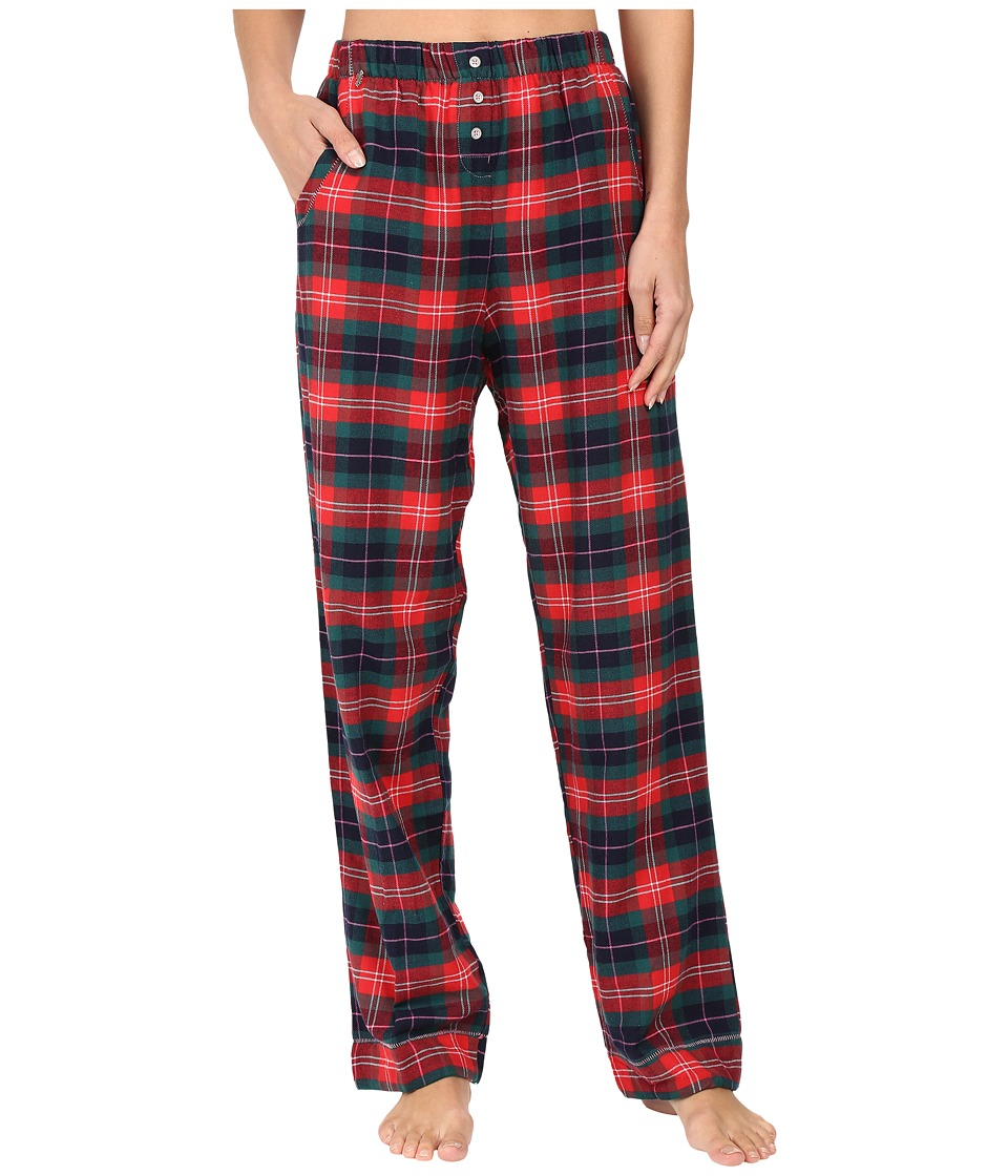 Jane & Bleecker - Packaged Flannel Pants 3581259F (Holiday Ski Plaid) Women's Pajama