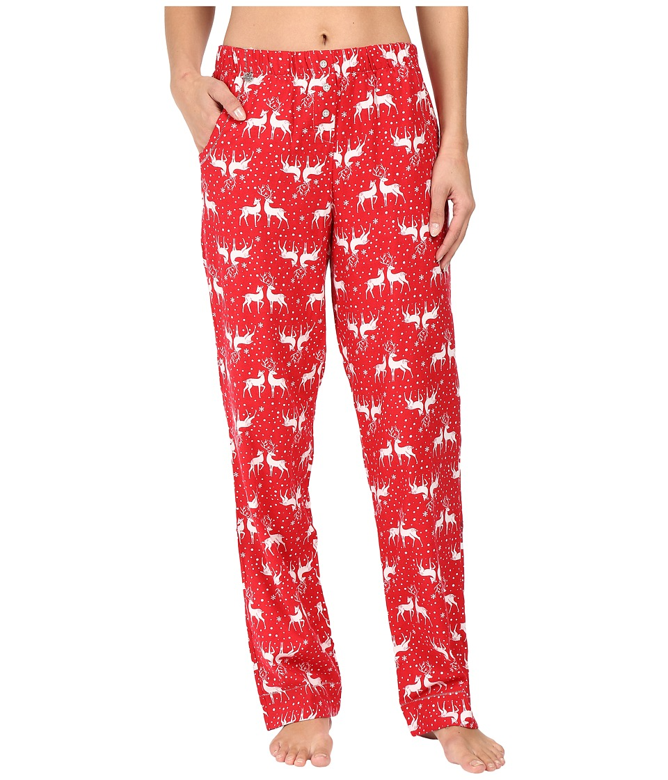 Jane & Bleecker - Packaged Flannel Pants 3581259F (Deers In Love) Women's Pajama