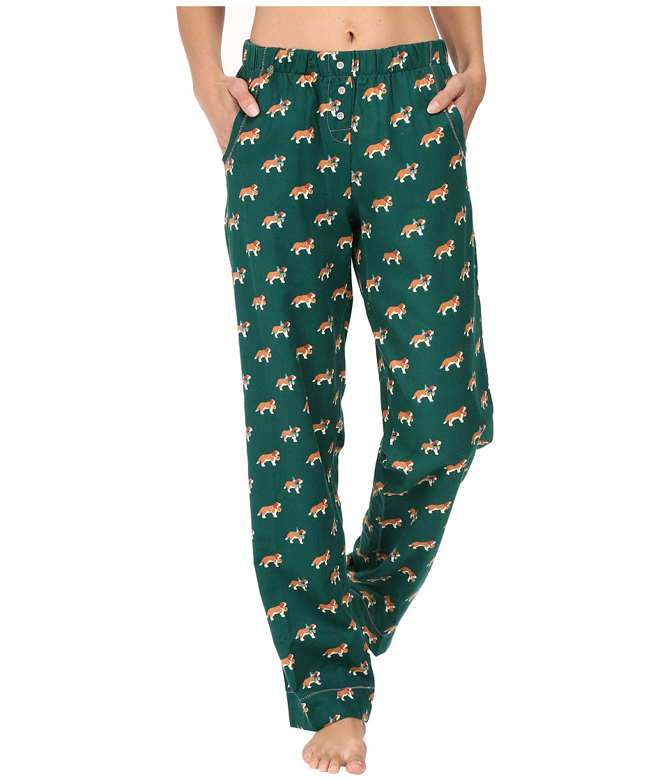 Jane & Bleecker - Packaged Flannel Pants 3581259F (Ski Slope Puppy) Women's Pajama