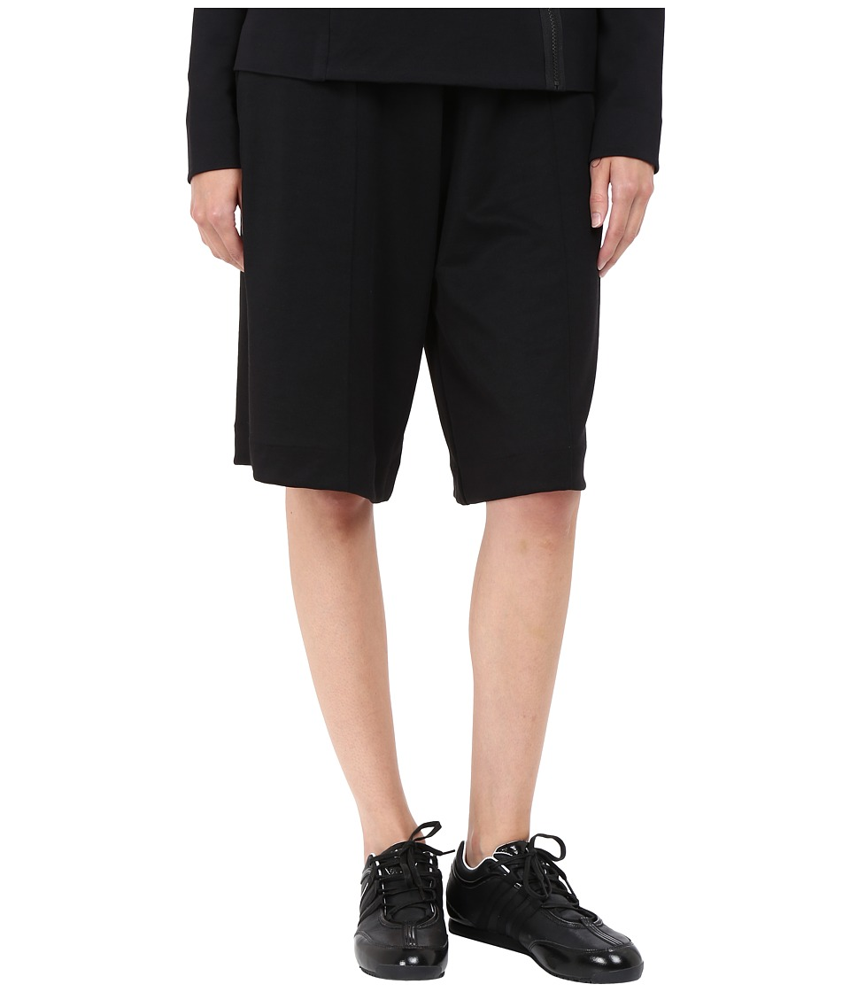 adidas Y-3 by Yohji Yamamoto - 3 Stripes 3/4 Pants (Black) Women's Casual Pants
