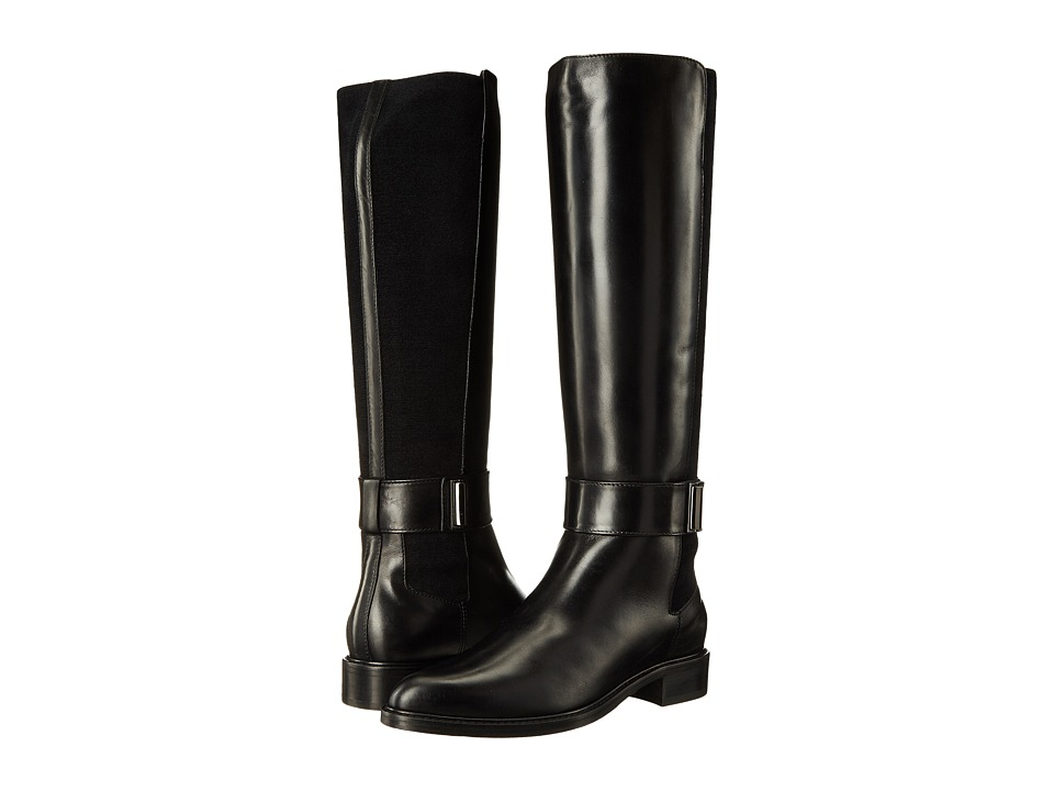 Aquatalia Giada (Black Calf) Women