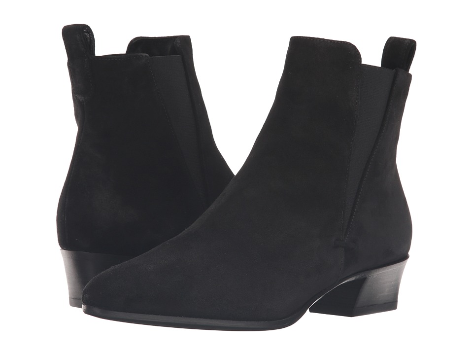 Aquatalia Fausta (Black Suede) Women