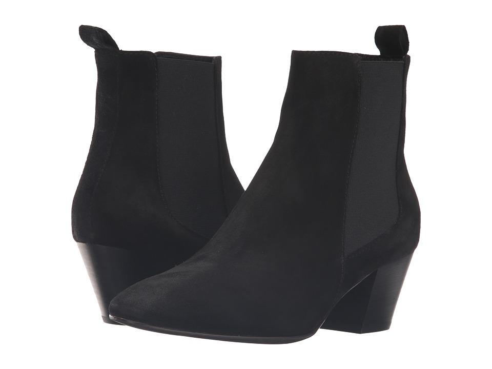 Aquatalia - Freya (Black Suede) Women's Boots