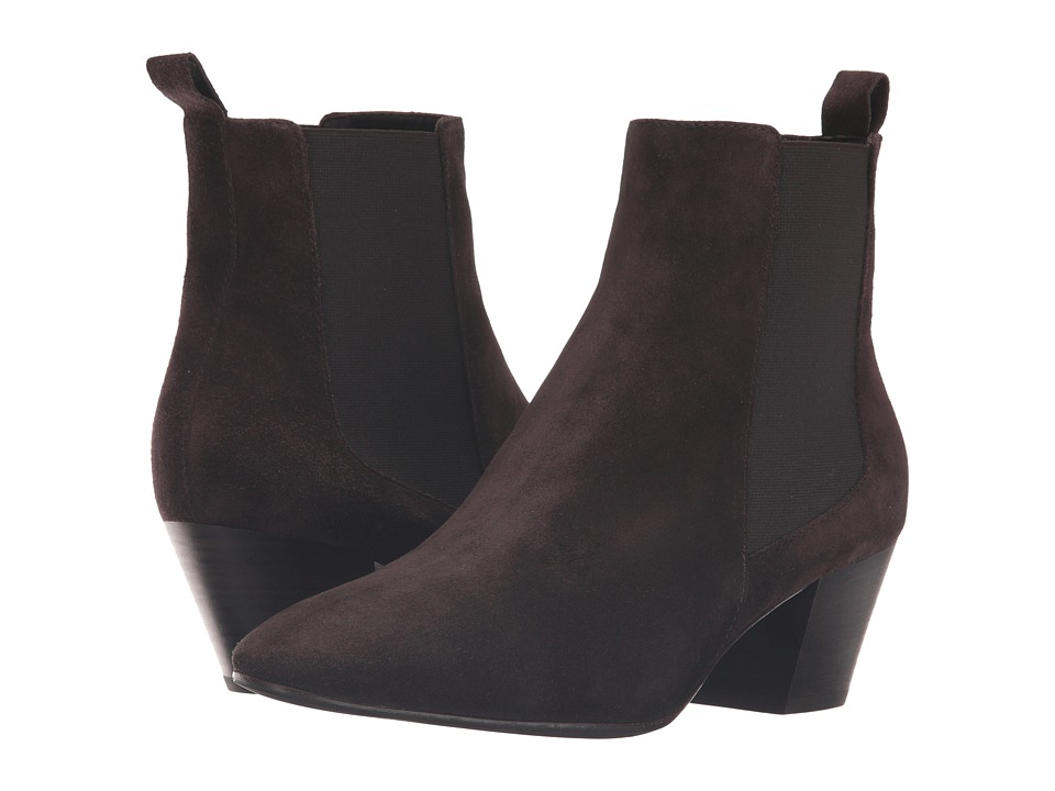 Aquatalia - Freya (Espresso Suede) Women's Boots