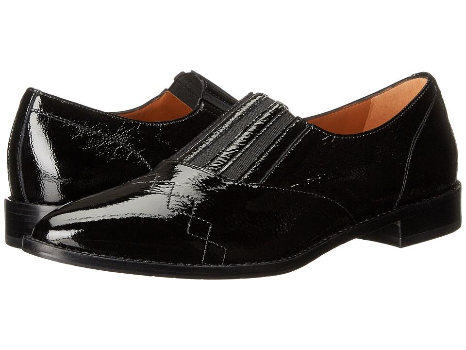 Aquatalia - Gayle (Black Naplak) Women's Slip on Shoes