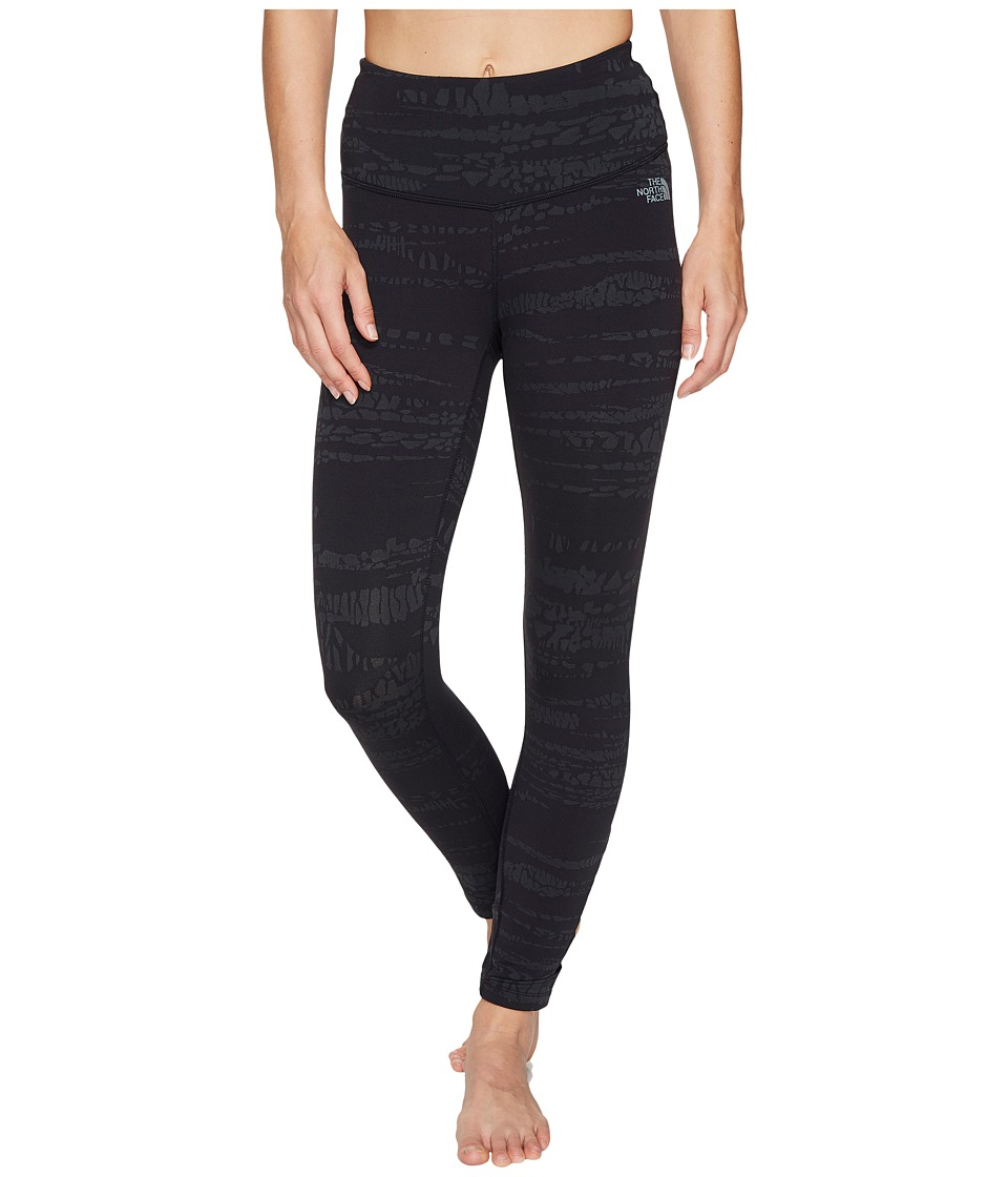 The North Face - Motivation Strappy Leggings (TNF Black Animal Tex Jacquard (Prior Season)) Women's Casual Pants