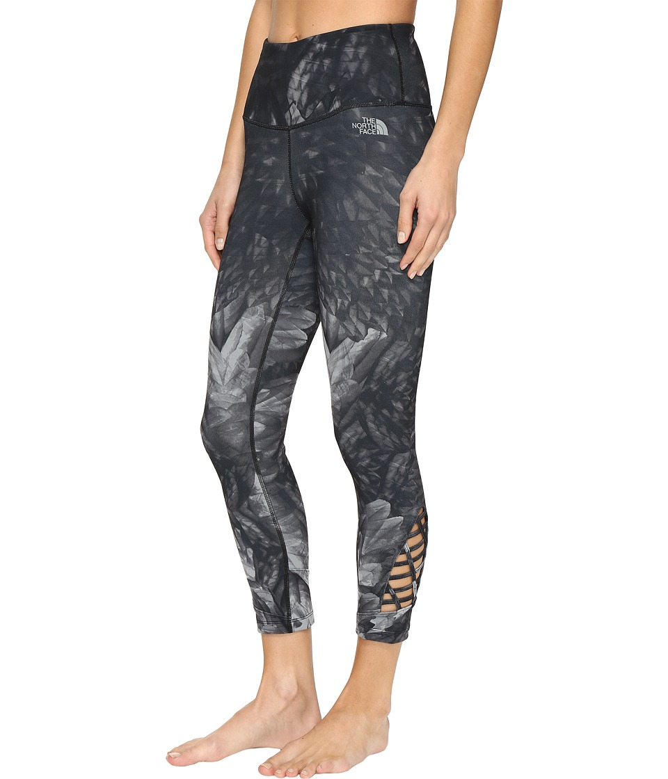 The North Face - Motivation Strappy Leggings (TNF Black Wings Print (Prior Season)) Women's Casual Pants