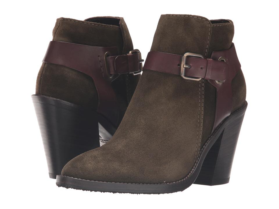 Aquatalia - Liana (Herb Suede/Calf Combo) Women's Boots