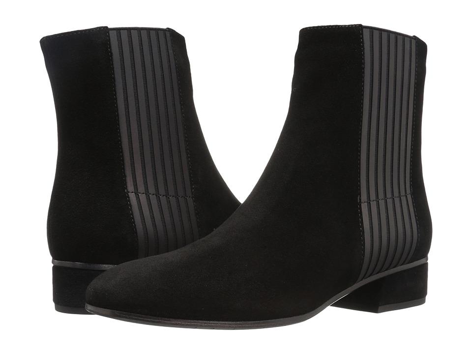 Aquatalia - Luna (Black Suede) Women's Boots