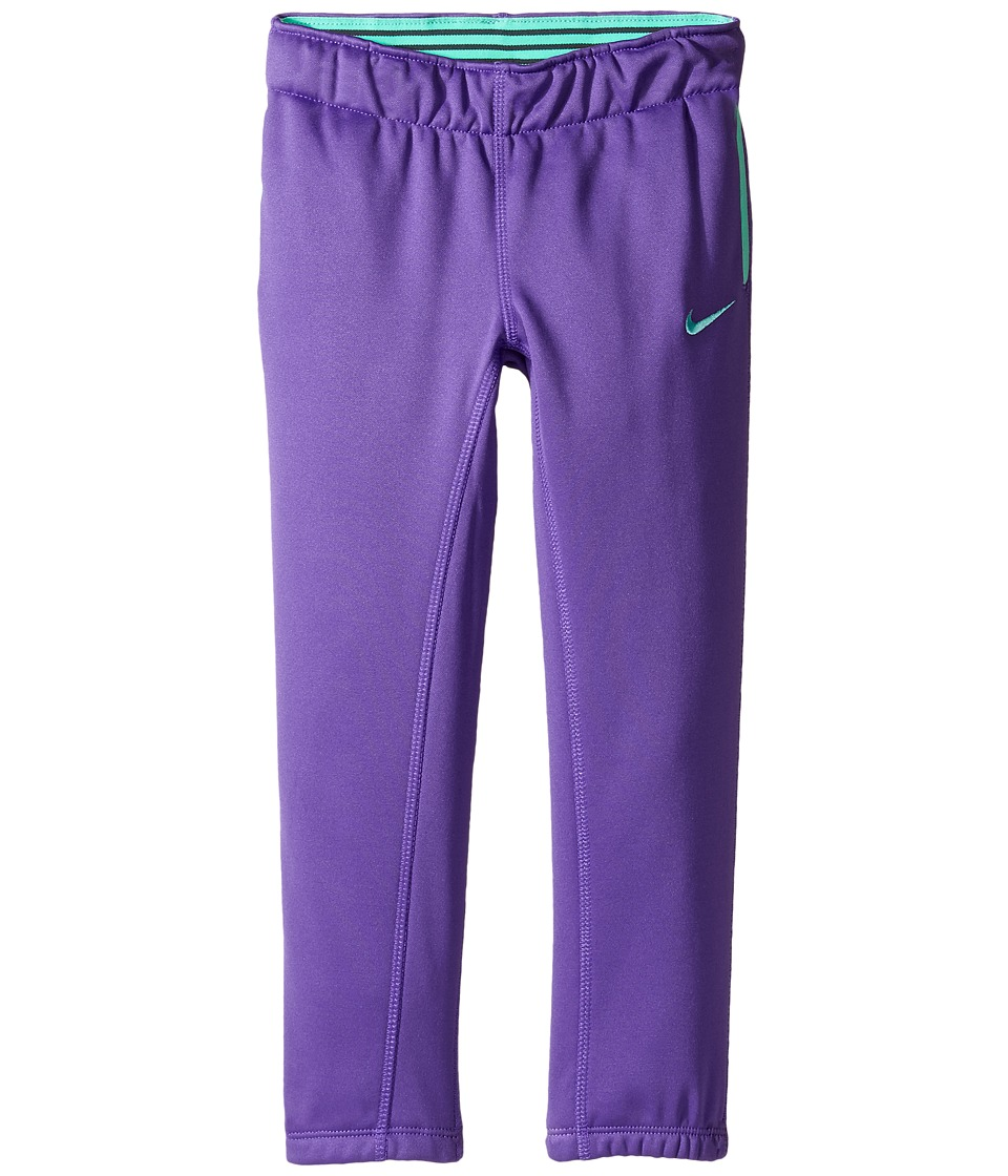 Nike Kids - Thermal Pants At Cuff (Toddler) (Dark Iris) Girl's Casual Pants