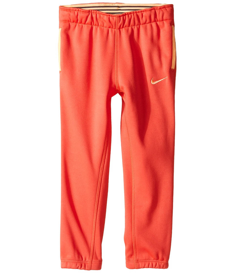 Nike Kids - Thermal Pants At Cuff (Toddler) (Ember Glow) Girl's Casual Pants