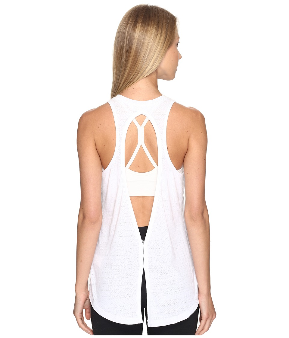 The North Face Burn It Tank Top (TNF White (Prior Season)) Women