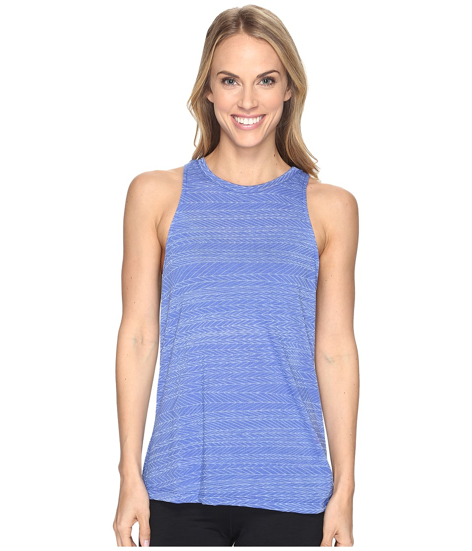 The North Face - Burn It Tank Top (Amparo Blue Heather (Prior Season)) Women's Sleeveless