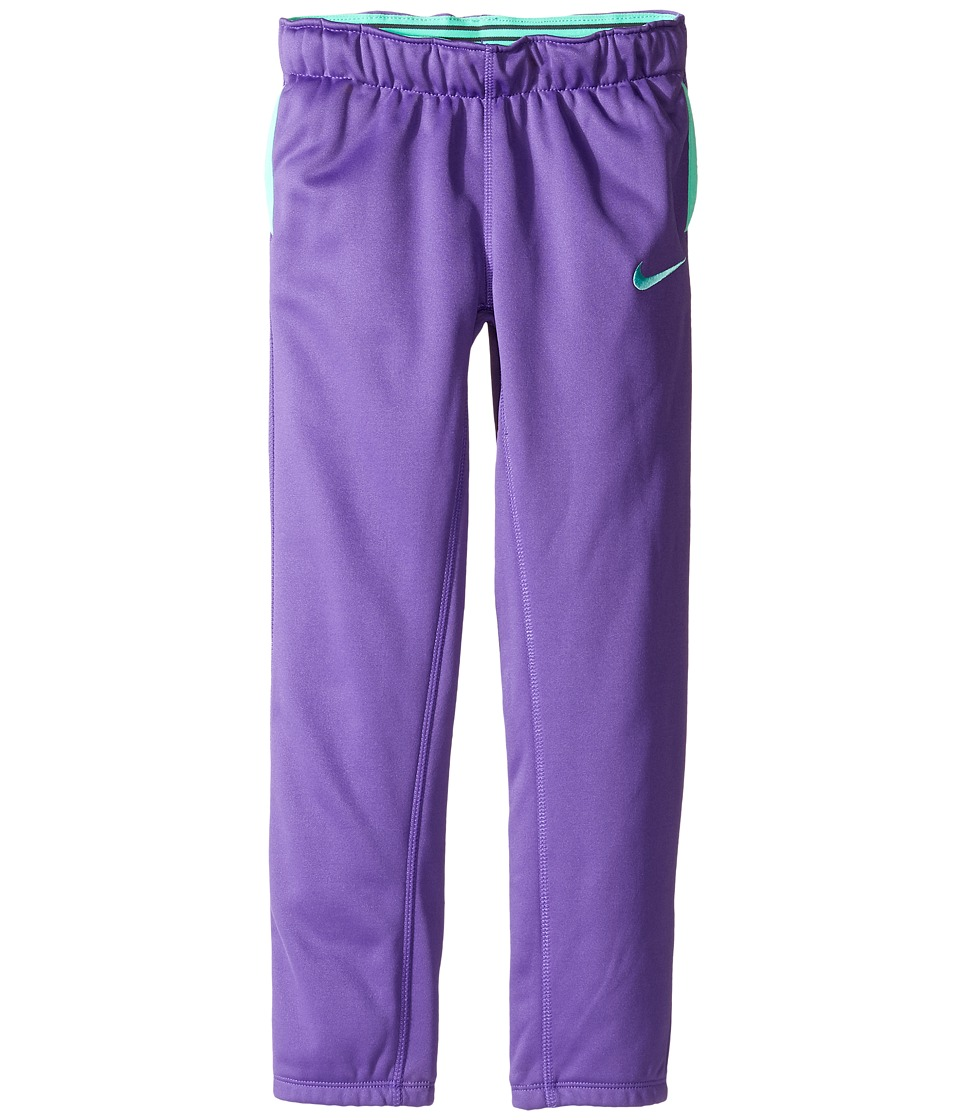 Nike Kids - Thermal Pants At Cuff (Little Kids) (Dark Iris) Girl's Casual Pants