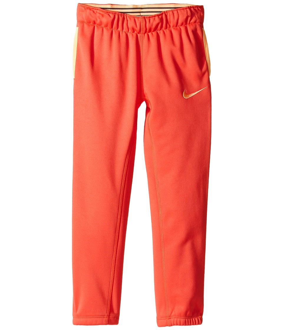 Nike Kids - Thermal Pants At Cuff (Little Kids) (Ember Glow) Girl's Casual Pants