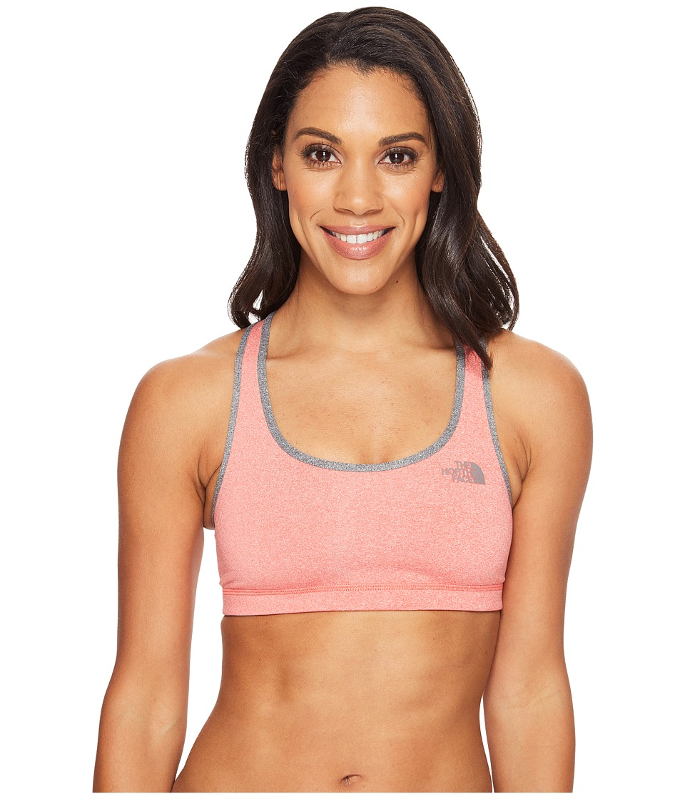 The North Face Bounce-B Gone Bra (Cayenne Red Heather/TNF Medium Grey Heather (Prior Season)) Women