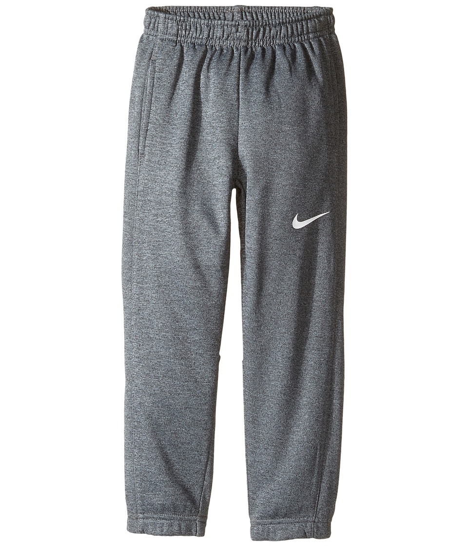 Nike Kids - Therma Fit Heathered Cuff Pants (Toddler) (Cool Gray Heather) Boy's Casual Pants