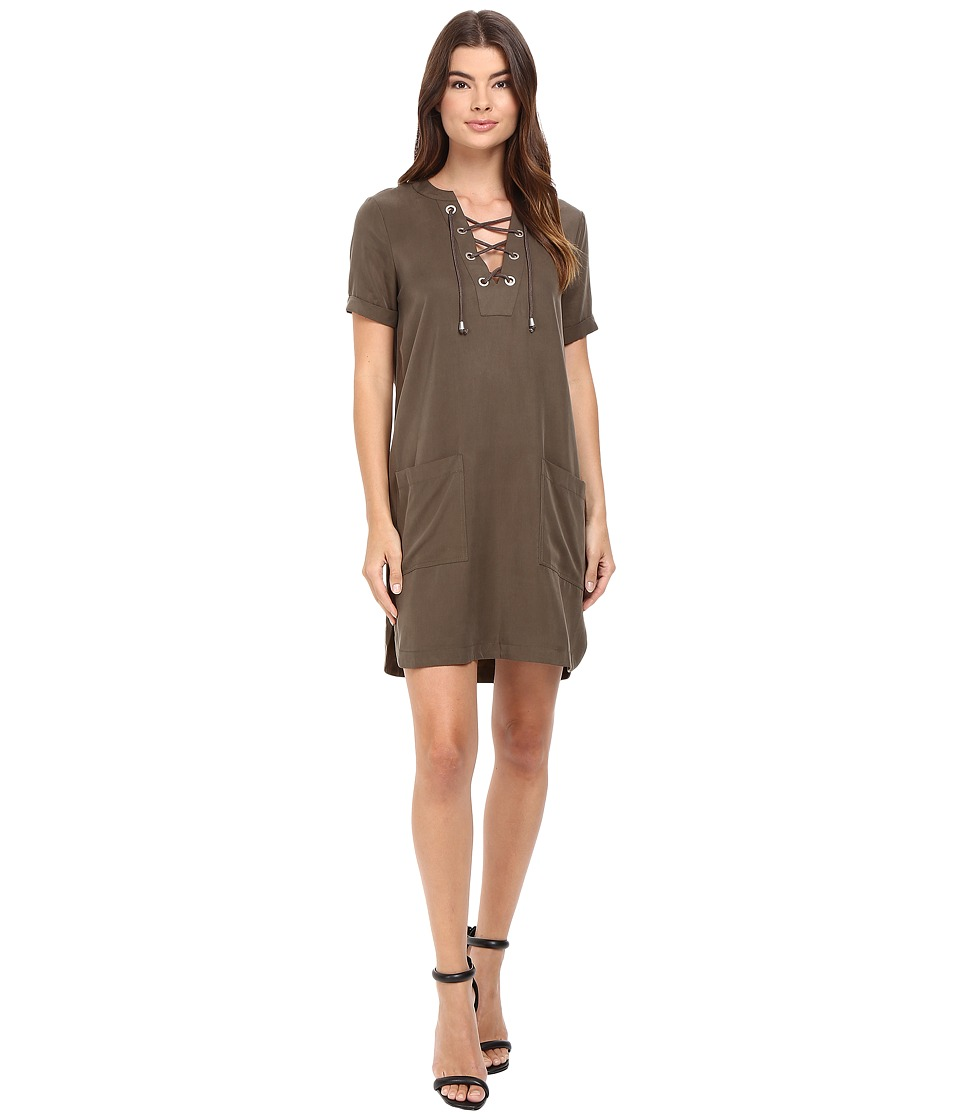 Lovers + Friends - Waterfront Dress (Moss) Women's Dress