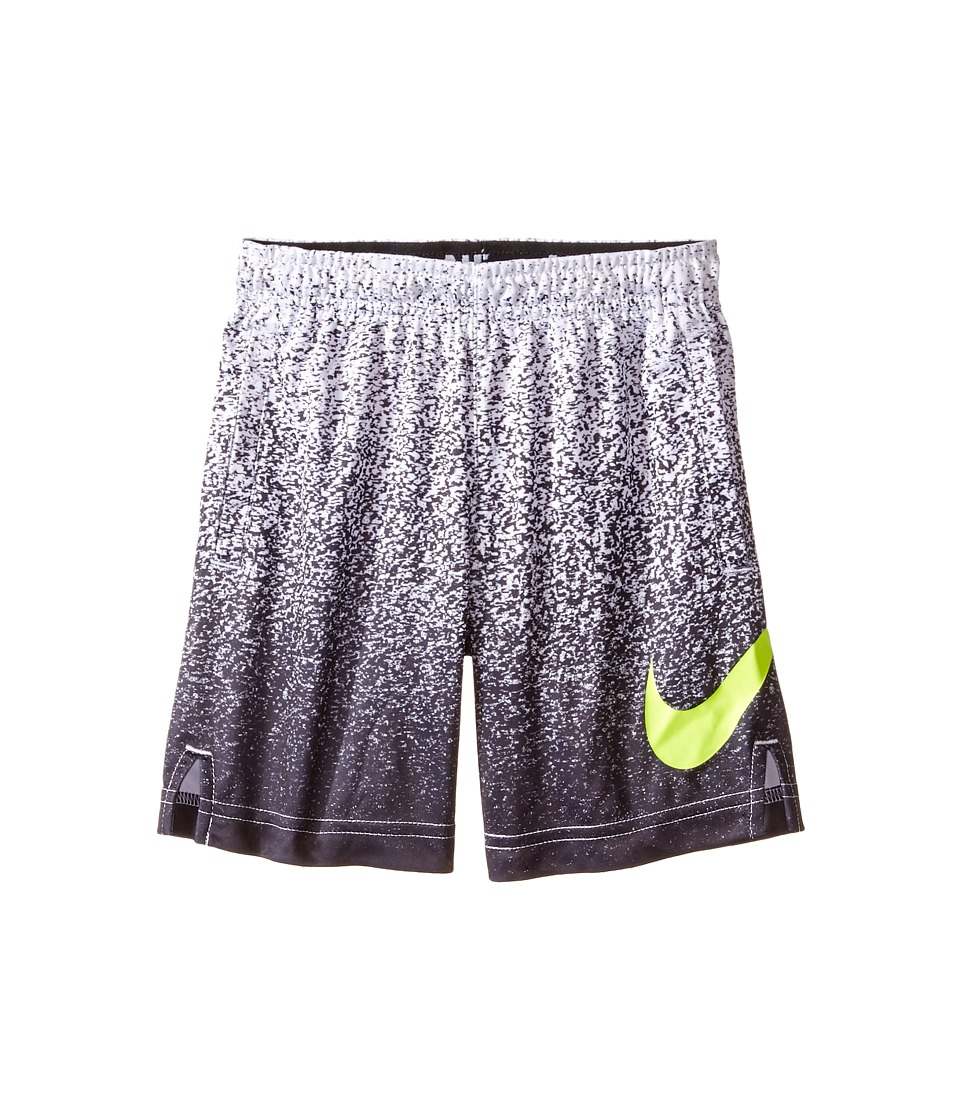 Nike Kids - Dry Printed Shorts (Toddler) (White) Boy's Shorts
