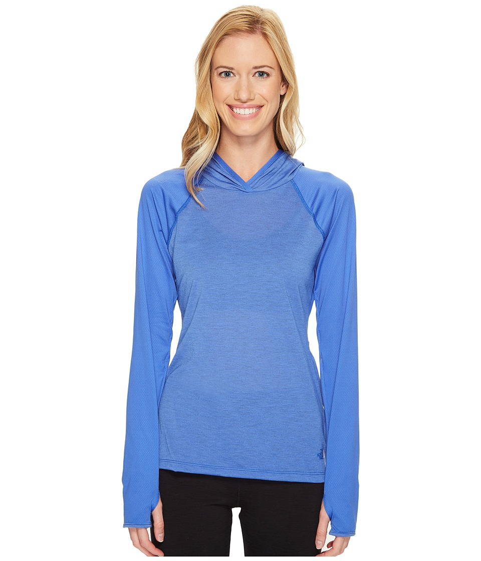 The North Face Reactor Hoodie (Amparo Blue (Prior Season)) Women