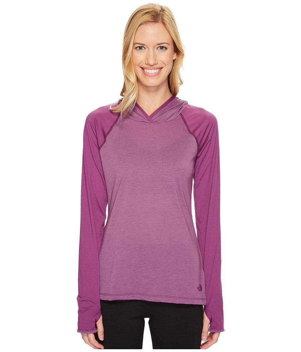 The North Face - Reactor Hoodie (Wood Violet (Prior Season)) Women's Sweatshirt