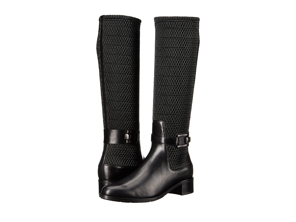 Aquatalia - Odilia (Black Calf) Women's Boots